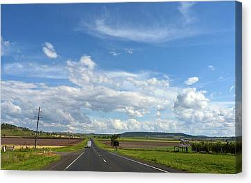 Canvas Print featuring the photograph Big Sky Country by Odille Esmonde-Morgan
