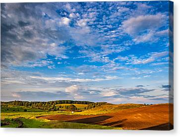 Big Sky Ontario Canvas Print by Steve Harrington