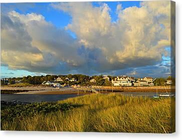Big Sky Over Sesuit Harbor Canvas Print