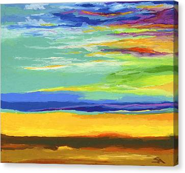Big Sky Canvas Print by Stephen Anderson