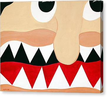 Big Smile Canvas Print