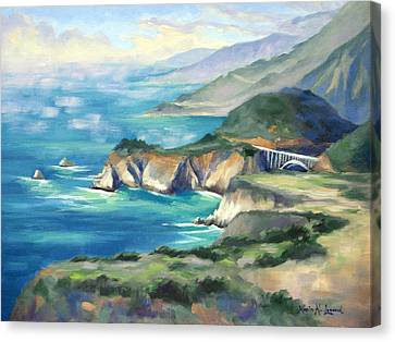Big Sur Autumn Canvas Print