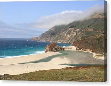 Big Sur Beach Canvas Print
