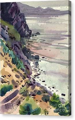 Big Sur California Canvas Print - Big Sur California by Donald Maier