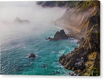 Big Sur Coastal Fog Canvas Print by Garry Gay