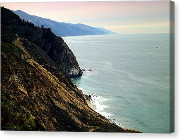 Big Sur Coastline Four Canvas Print by Joyce Dickens