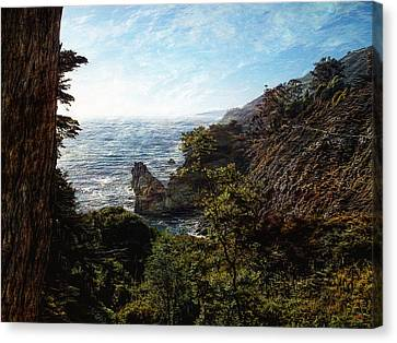 Big Sur Coastline Canvas Print by Glenn McCarthy Art and Photography