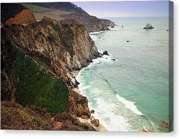 Big Sur Coastline One Canvas Print