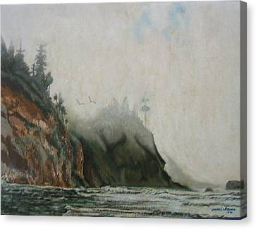 Big Sur Canvas Print by Howard Stroman