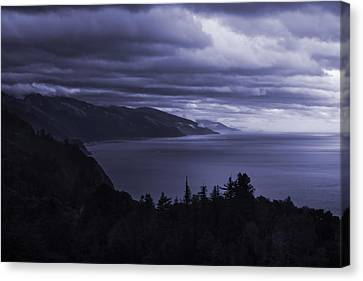 Big Sur Storm Canvas Print by Matt  Trimble
