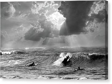 Big Surf Canvas Print by John Hix