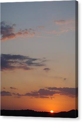 Big Texas Sky Three Canvas Print by Ana Villaronga