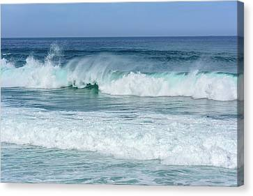 Canvas Print featuring the photograph Big Waves by Marion McCristall