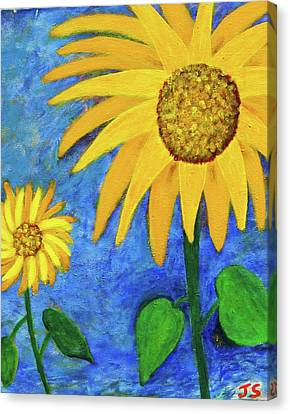 Big Yellow Canvas Print by John Scates