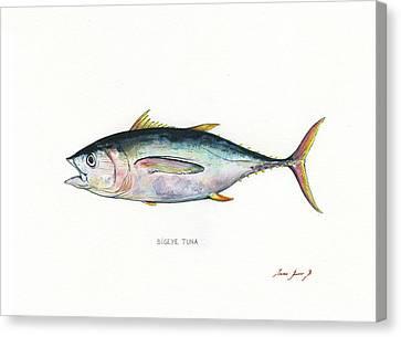 Bigeye Tuna Canvas Print