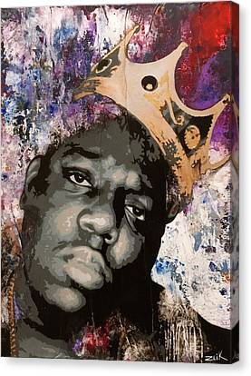 Street Art Canvas Print - Biggie by Bobby Zeik