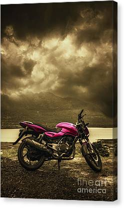 Bike Canvas Print by Charuhas Images