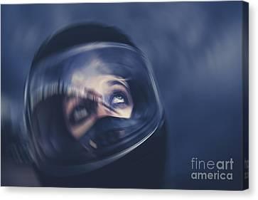 Bike Crash Canvas Print by Jorgo Photography - Wall Art Gallery