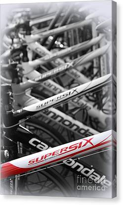 Bike Frames Canvas Print
