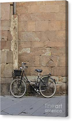 Bike Lucca Italy Canvas Print