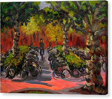Bike Park Canvas Print