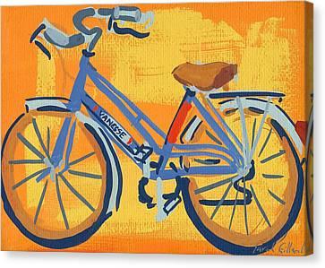Bike Canvas Print by Sarah Gillard
