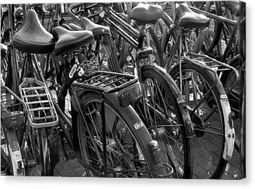 Canvas Print - Bikes by April Bielefeldt
