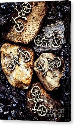 Terrain Canvas Print - Biking Trail Scene by Jorgo Photography - Wall Art Gallery