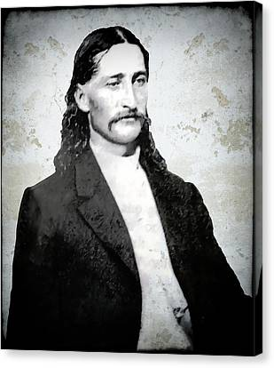 Bill Hickok  1865 Canvas Print