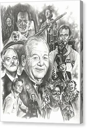 Bill Murray Canvas Print by James Rodgers