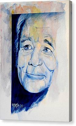 Bill Murray Canvas Print by William Walts