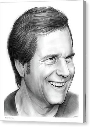 Bill Paxton Canvas Print by Greg Joens