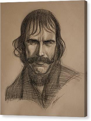 Gangs Canvas Print - Bill The Butcher by Alex Ruiz