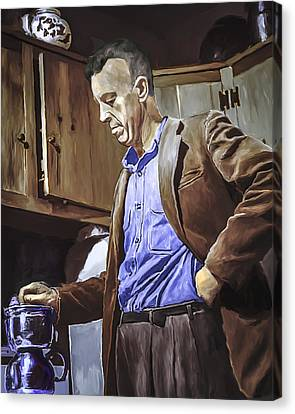 Bill Wilson Canvas Print