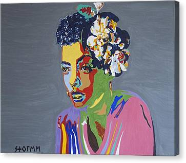 Billie Holiday Canvas Print