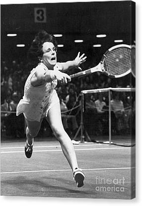Billie Jean King Canvas Print