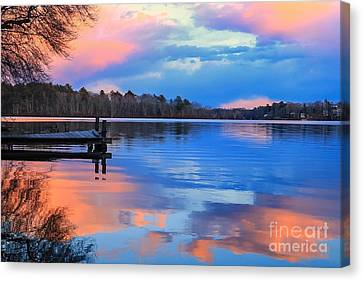 Billington Sea Sunset Canvas Print