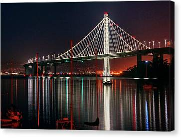 Canvas Print featuring the photograph Billion Dollar View by Peter Thoeny