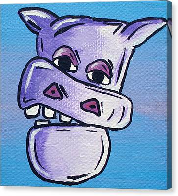 Billy Bob Canvas Print by Jera Sky