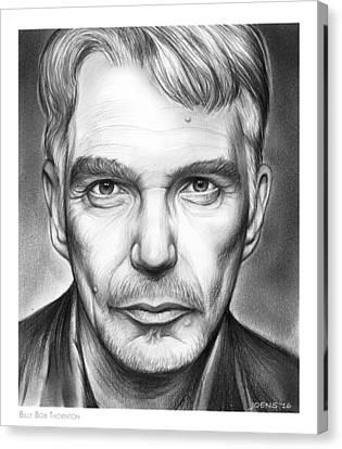 Billy Bob Thornton Canvas Print