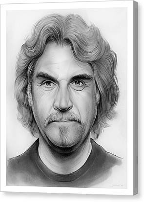 Billy Connolly Canvas Print by Greg Joens