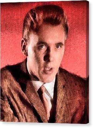 Mansfield Canvas Print - Billy Fury, Singer by John Springfield