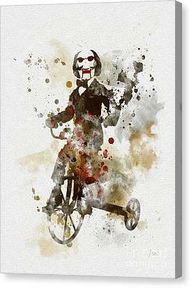 Billy Canvas Print by Rebecca Jenkins