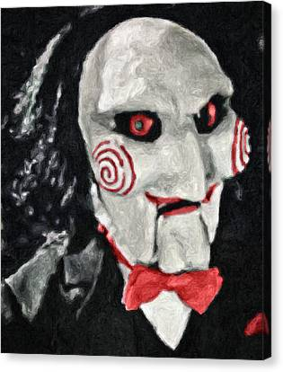 Billy The Puppet II Canvas Print