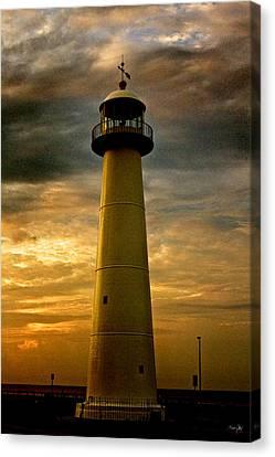 Canon 7d Canvas Print - Biloxi Lighthouse - Sunrise by Scott Pellegrin