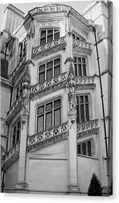 Biltmore House Spiral Stairwell Canvas Print
