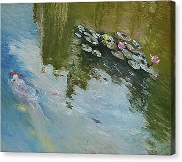 Biltmore Reflection 1 Canvas Print
