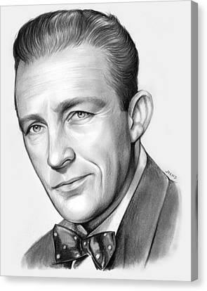 Bing Crosby Canvas Print