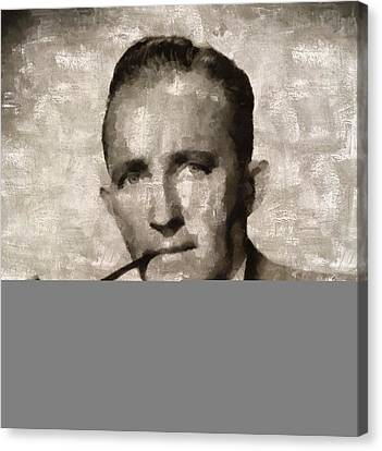 Bing Crosby, Singer And Actor Canvas Print
