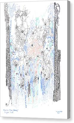 Bingham Fluid Or Paste Canvas Print